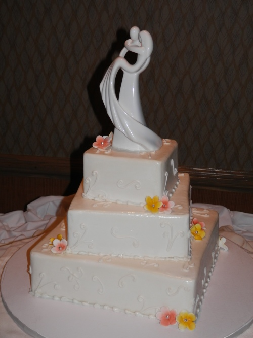 Beautiful Wedding Cake Created by Donna Joy, Sedona Sweet Arts