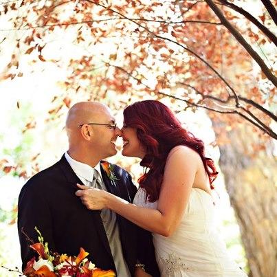 Fall Newlyweds Jim and Michelle