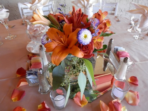 The Lovely Centerpieces by Mountain High Flowers