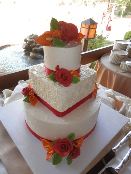 The Delicious Wedding Cake by Sedona Sweet Arts