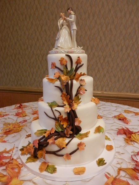 Wedding Cake by Donna Joy, Sedona Sweet Arts