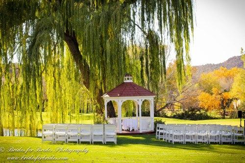 Wedding Ceremony at the Gazebo
