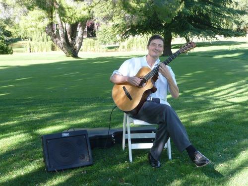 Guitarist Brian David