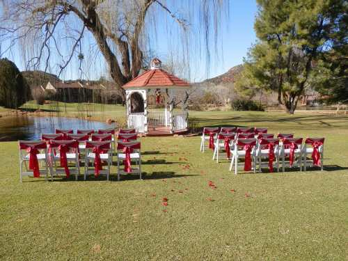 Ceremony on the Golf Course