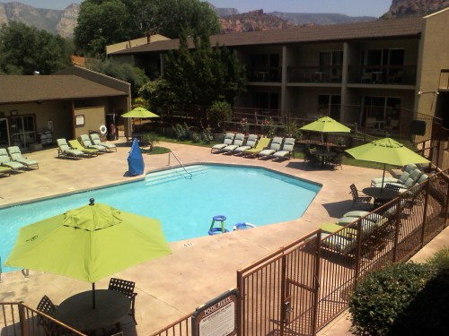 Poco Diablo Resort Heated Pool and Jacuzzi
