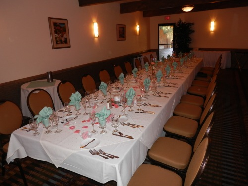 Wedding Dinner in the Sedona Room