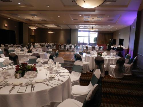 Reception in the Poco Diablo Ballroom