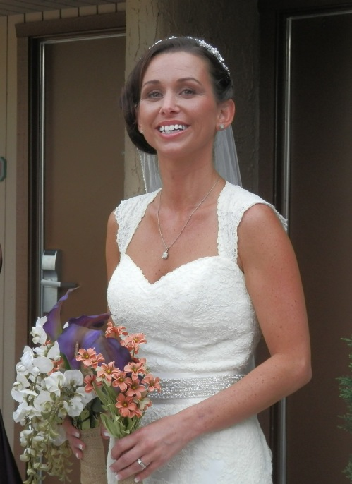 Our lovely bride Jessica