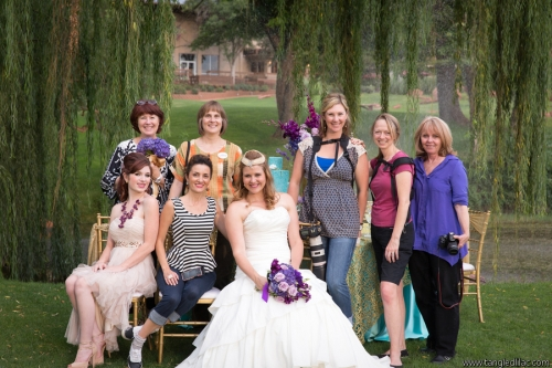 Contributors to the Sedona Bridal Fair Photo Shoot