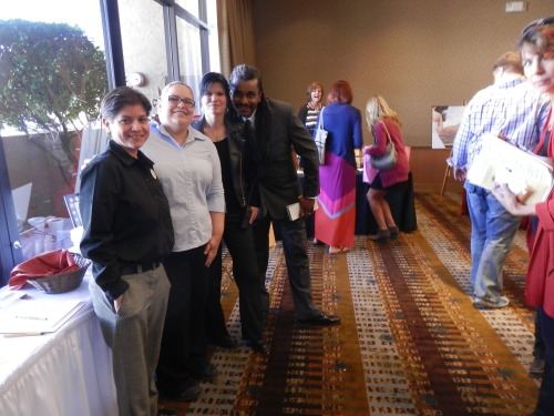 Our Great Poco Diablo Staff helping out at the Sedona Bridal Fair