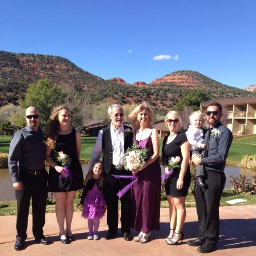 Jim, Debra and the Bridal Party