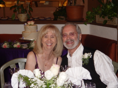 Debra and Jim - our Happy Couple