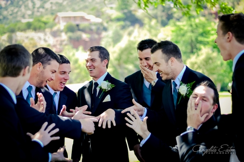 Chris and his Groomsmen