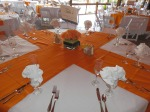 Lovely Table Setting and Centerpieces