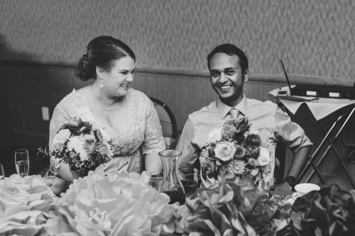 Jessica and Karthik, Photo by Aaron Kes