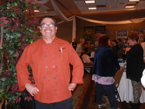 Our executive Chef Felipe prepared a variety of delicious treats for our show attendees.