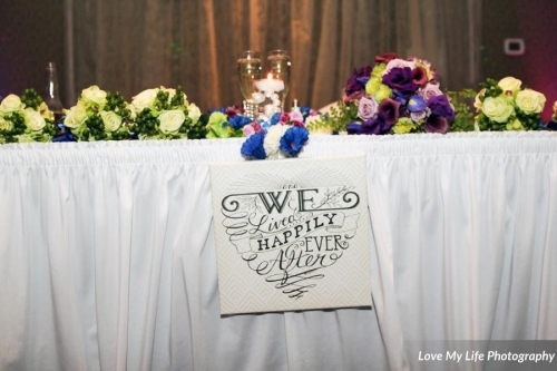 Head Table - Floral by Bliss Extraordinary Floral