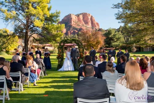 Red Rock Wedding Ceremony