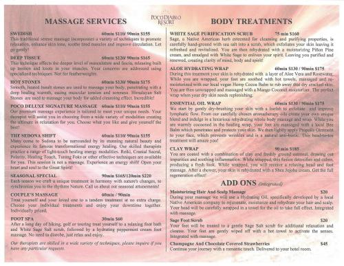 The Spa Massage Services