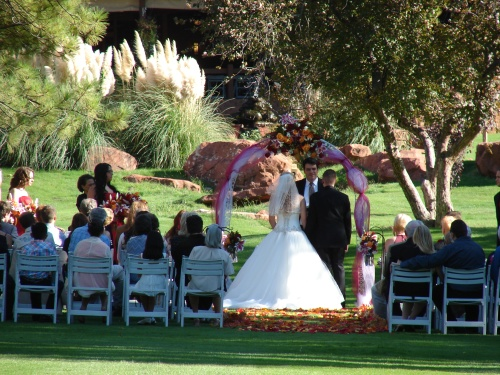 Kristopher and Tia's Fall Wedding